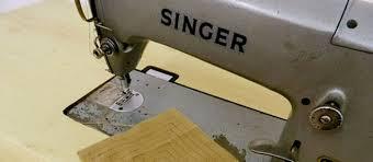 Uma máquina de costura representa muito problemas e soluções.